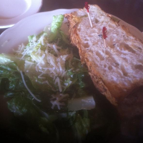 Salmon Blt With Caesar Salad - Biscottis, Jacksonville, FL