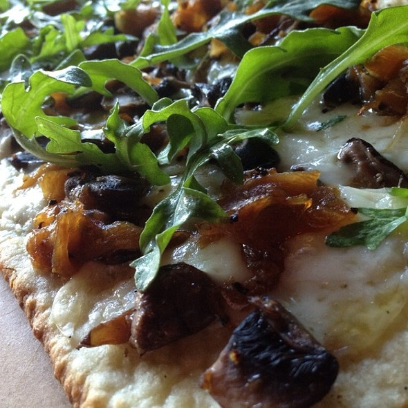 Wild Mushroom & Arugula Flatbread - Sullivan's Steakhouse - Houston, Houston, TX