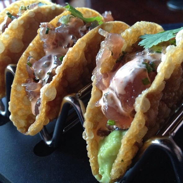 Citrus Scented Tuna Tartar Tacos - Sullivan's Steakhouse - Houston, Houston, TX