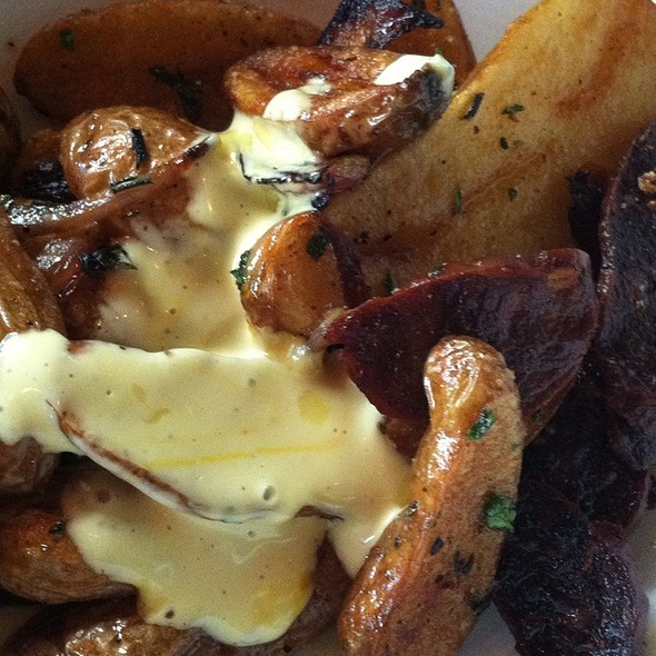 Fingerling Potatoes And Chorizo - The Lazy Goat, Greenville, SC
