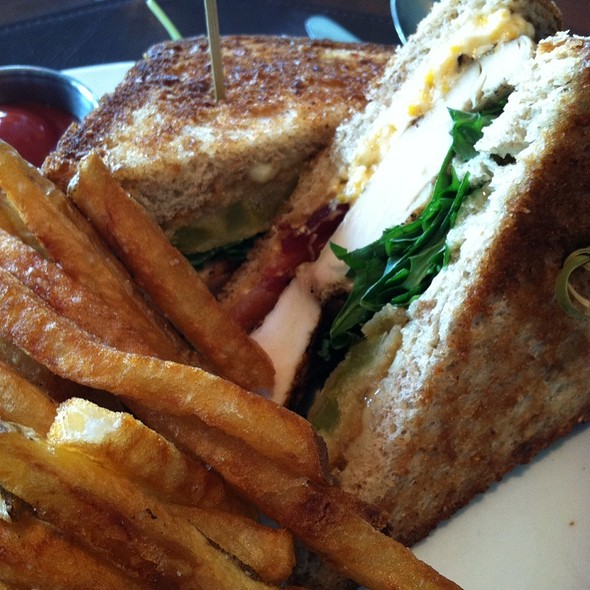 Club Sandwich - Halls Chophouse - Greenville, Greenville, SC