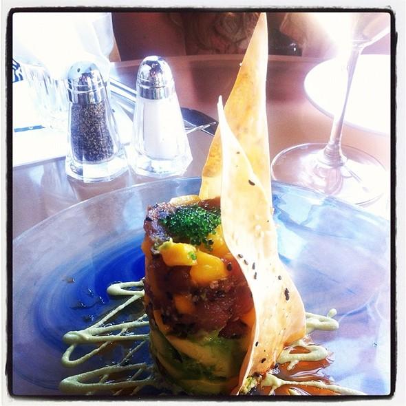 Ahi Tuna Tartare - Pacifica Seafood Restaurant, Palm Desert, CA