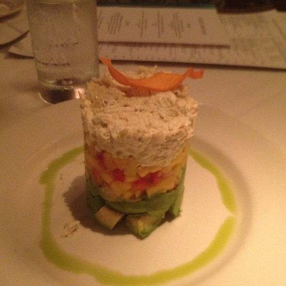 Crab,Avocado, & Mango Stack - Chart House Restaurant - Savannah, Savannah, GA