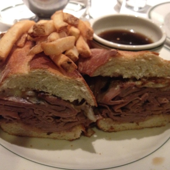 French Dip Sandwich - The Grill on the Alley - Westlake Village, Westlake Village, CA