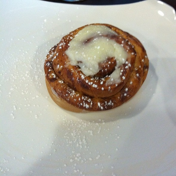 cinnamon roll - Croissants Bistro and Bakery, Myrtle Beach, SC