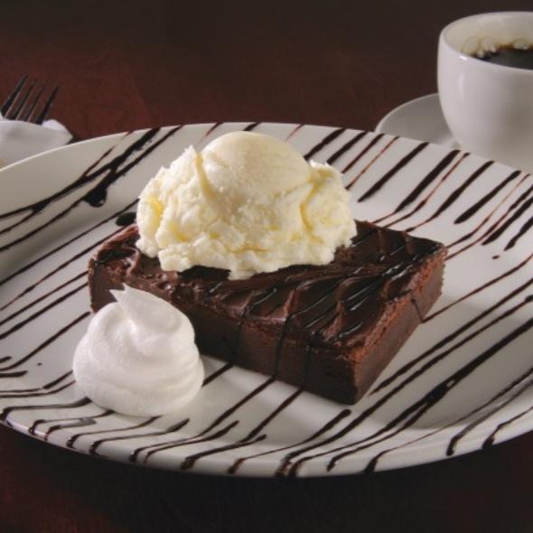 Brownie with Ice Cream - Zaffiro's - Mequon, Mequon, WI
