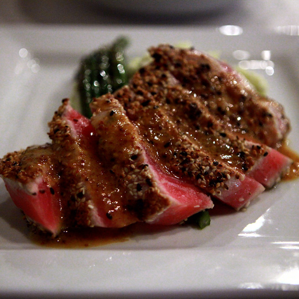 Sesame Crusted Ahi Tuna - Lucio's BYOB & Grill, Houston, TX