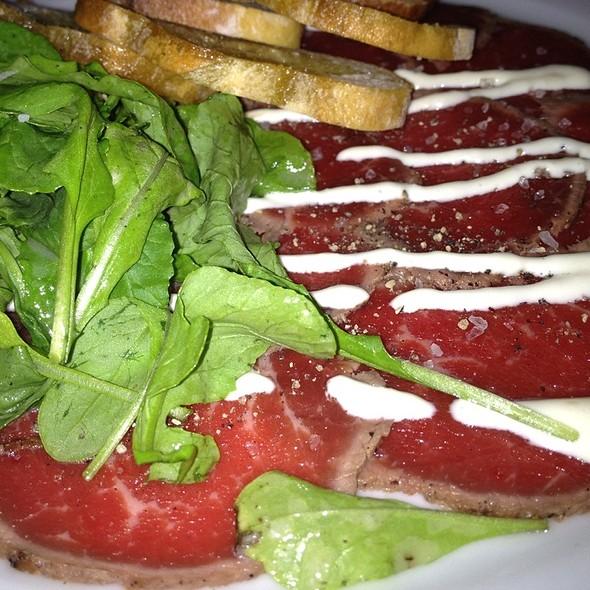 Beef Carpaccio - Wild Olive