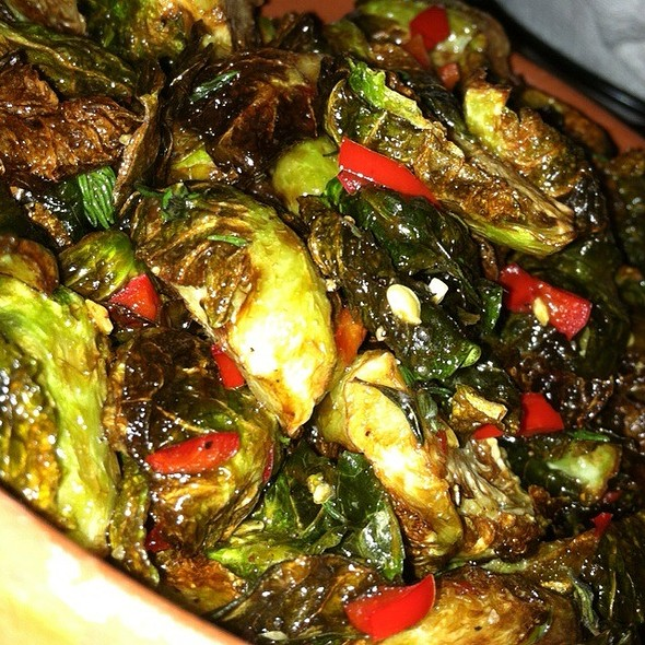 Roasted brussels sprouts - Wild Olive