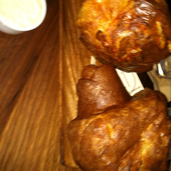popovers - BLT Steak at Camelback Inn, A JW Marriott Resort, Scottsdale, AZ