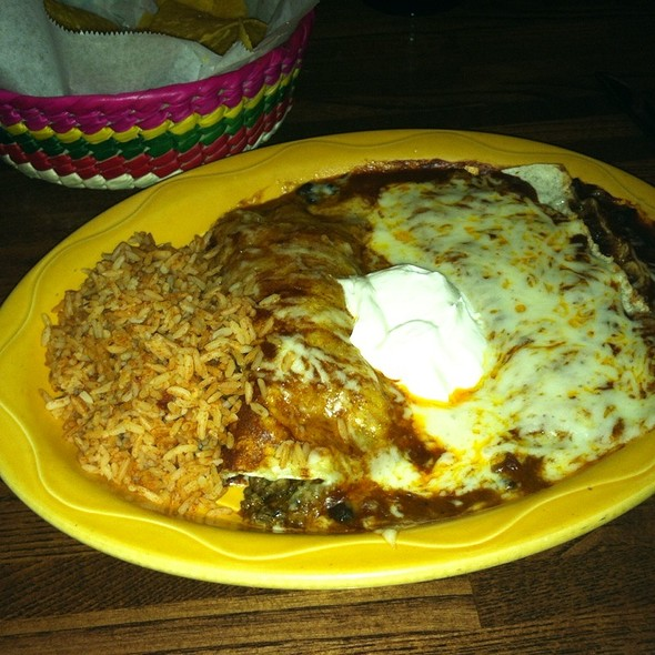 Ground Beef And Black Bean Chile Enchiladas - Dos Locos Rehoboth, Rehoboth Beach, DE