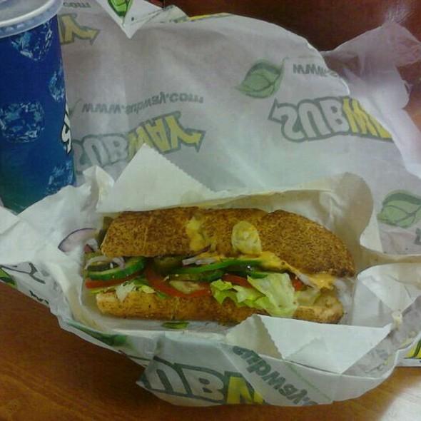 subway sandwich nantes