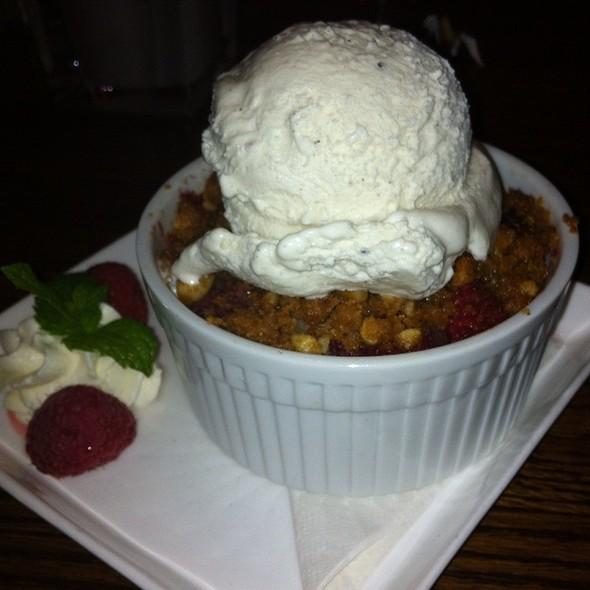 Rasberry Cobbler - Sugarbeet, Longmont, CO