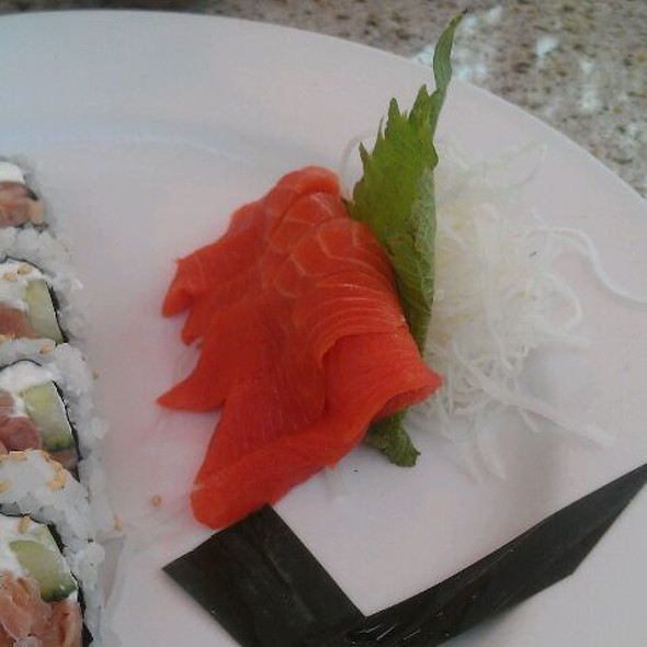 Copper River Salmon Sashimi - Hapa Sushi Grill & Sake Bar - Landmark in Greenwood Village, Greenwood Village, CO