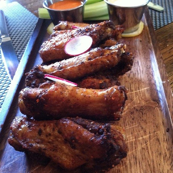 Dry Cajun Rubbed Chicken Wings - Darien Social, Darien, CT