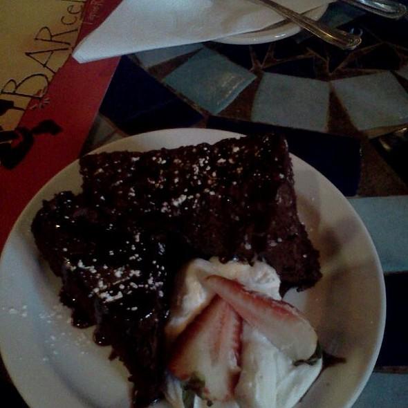 Montserrat Chocolate Brownie - BARcelona Tapas - Indianapolis, Indianapolis, IN