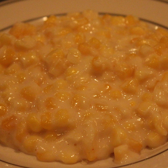 Creamed Corn - Gulliver's Restaurant, Irvine, CA