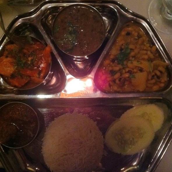 Himalayan Thali - Himalayan Heritage Restaurant & Bar, Washington, DC
