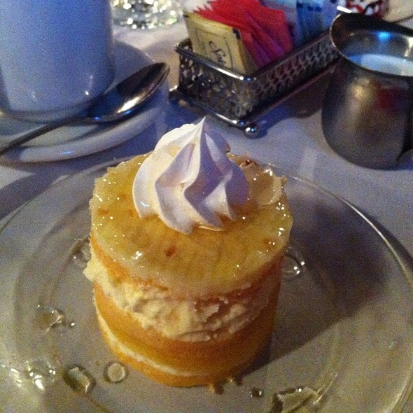 Primcess Pineapple Cake - 17Hundred90 Inn and Restaurant, Savannah, GA