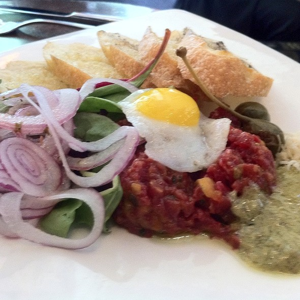 Steak Tartare With Quail Egg - beerbistro, Toronto, ON