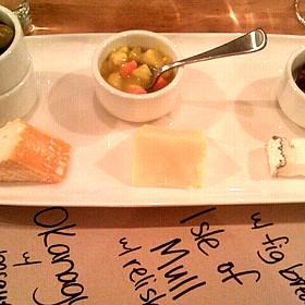 Cheese Plate - Salt Tasting Room, Vancouver, BC