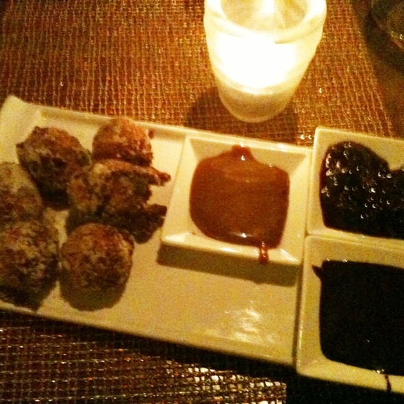 Sweet Corn Donut Holes - Luminaria Restaurant & Patio, Santa Fe, NM