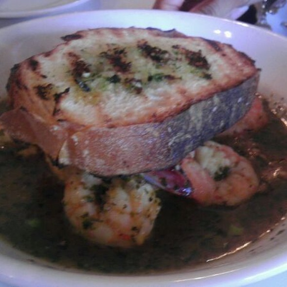 Bbq'd Shrimp And Grits - Jolie's Louisiana Bistro, Lafayette, LA