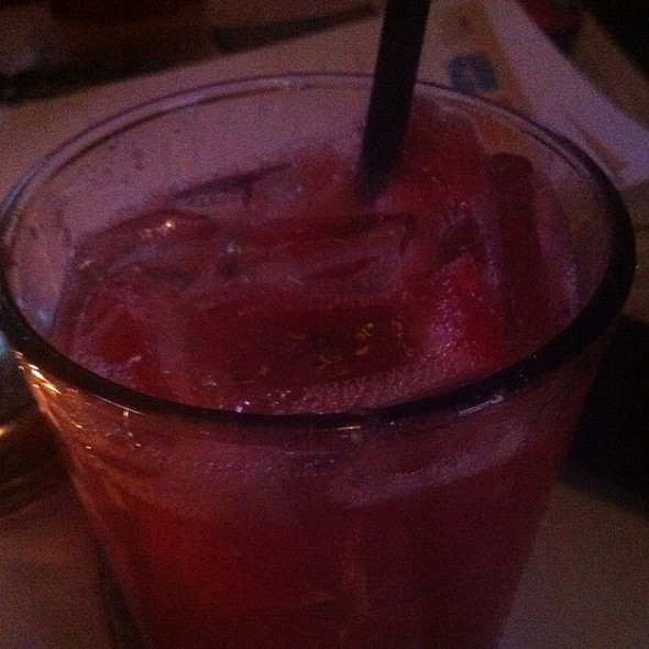 watermelon cocktail - Bull and Bear, Chicago, IL