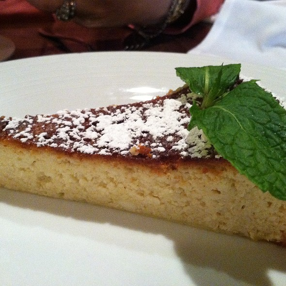 Ricotta Cheesecake - Tiella, New York, NY