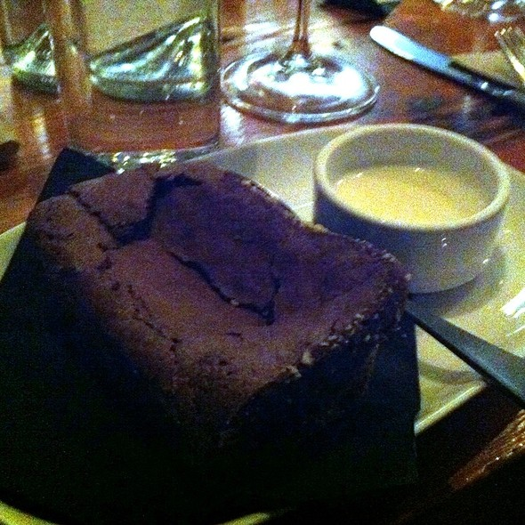 flourless chocolate cake - Salt Tasting Room, Vancouver, BC