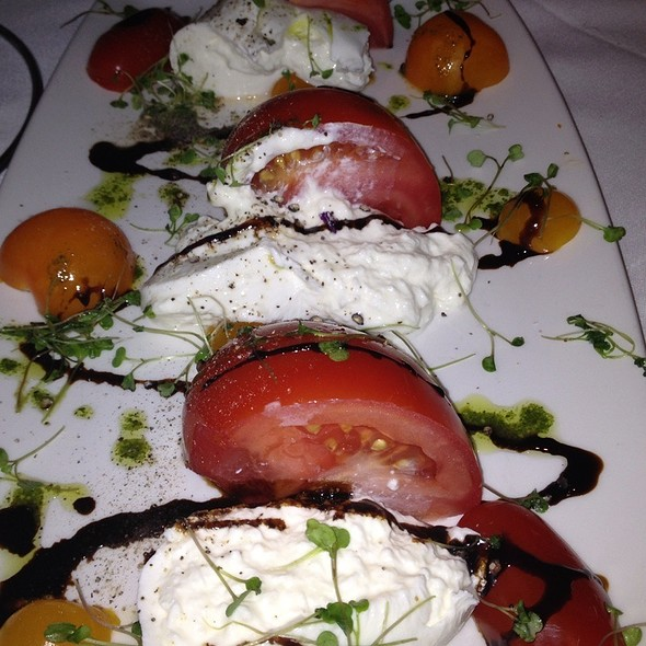 Tomatoes, Burrata, Balsamic - Del Frisco's Double Eagle Steakhouse - New York City, New York, NY