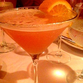Naples Sunset Martini - Bistro 821, Naples, FL