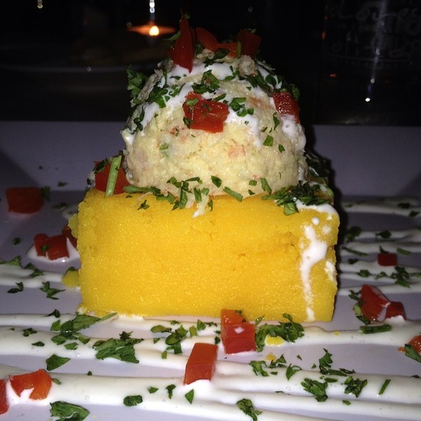 Causa Peruana With Shrimp - Dolores But You Can Call Me Lolita, Miami, FL