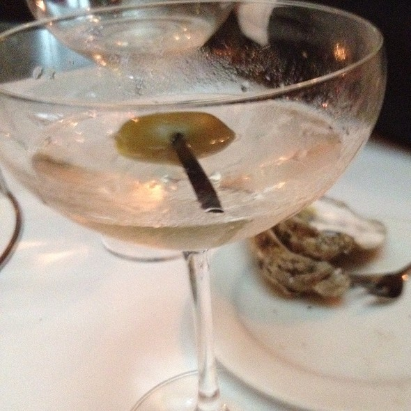 Dirty Martini - Millesime, New York, NY