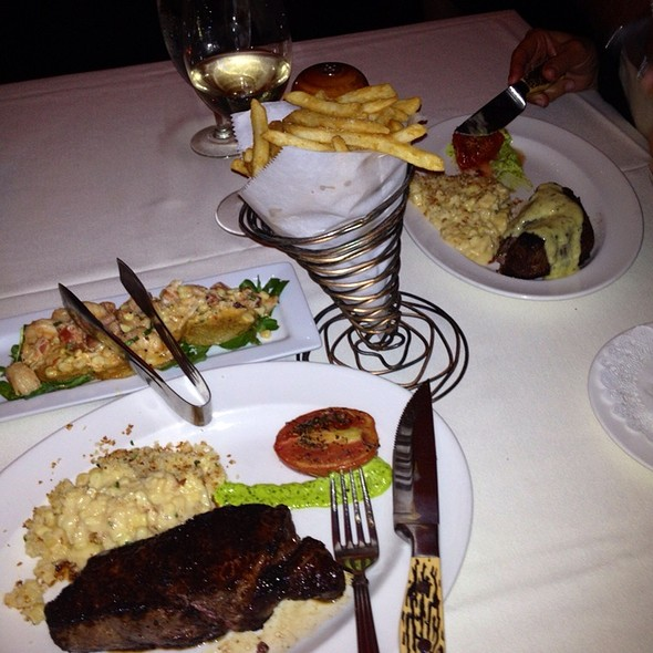 NY Steak - Halls Chophouse, Charleston, SC