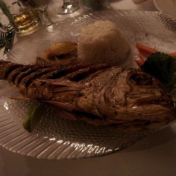 Whole Crispy Fried Red Snapper - Barrachina, San Juan, PR