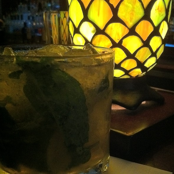 Mojito Royale - Ortanique on the Mile, Coral Gables, FL