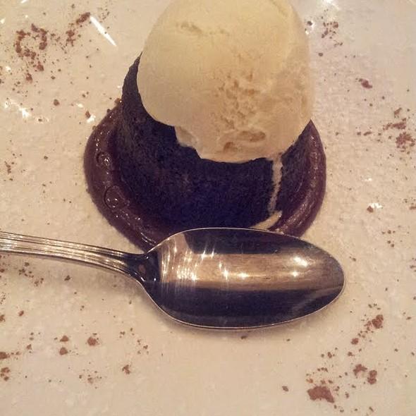 Chocolate Souffle - Maple, New York, NY