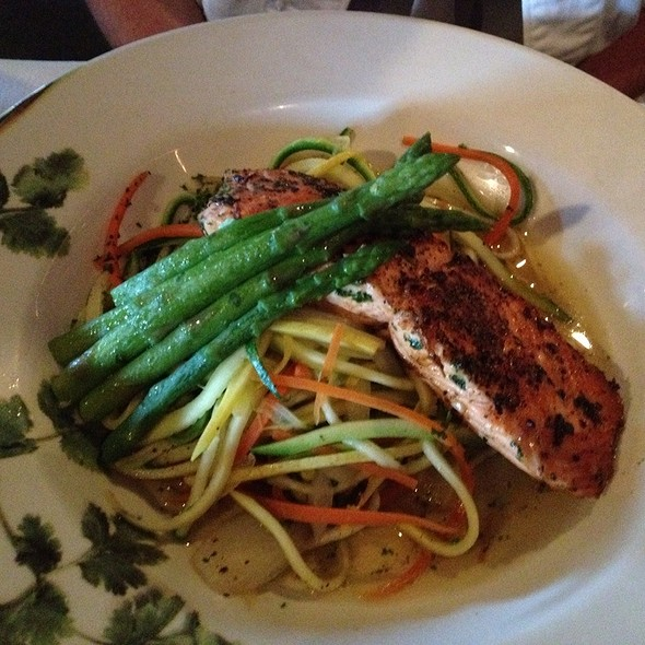 Roasted Salmon - BISTECCA – An Italian Steakhouse (formerly The Grotto), Highland Village, TX