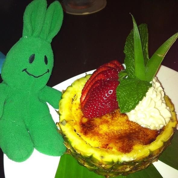 Pineapple Creme Brulee - Tommy Bahama Restaurant & Bar - Sandestin, Miramar Beach, FL