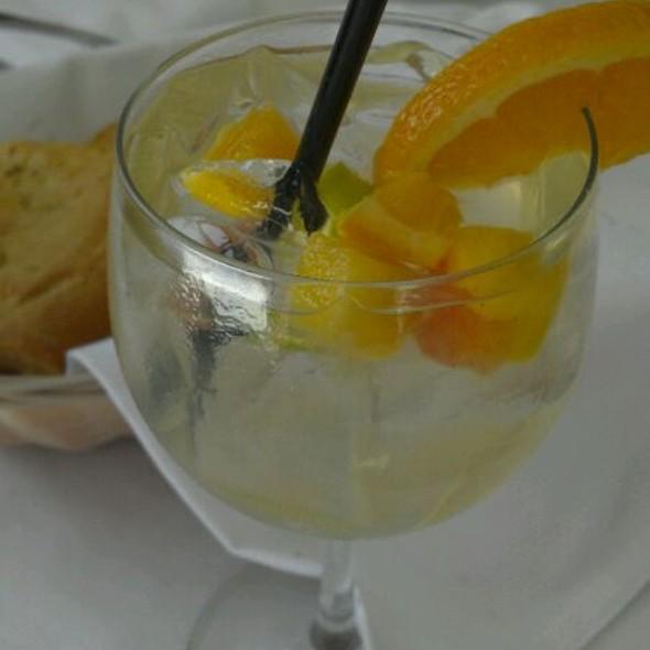 White Sangria - Cafe Santorini, Pasadena, CA