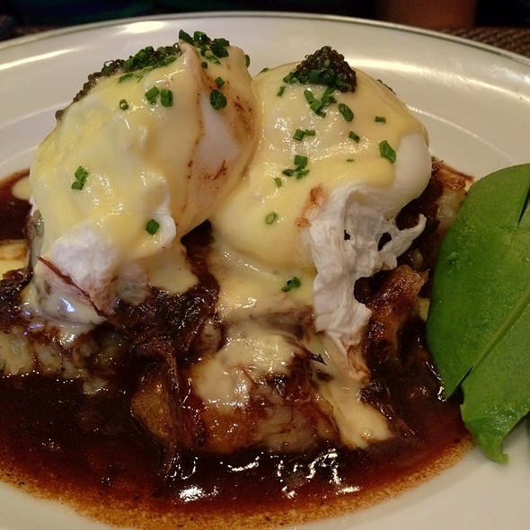 Short Ribs Eggs Benedict - The Henry - The Cosmopolitan of Las Vegas, Las Vegas, NV