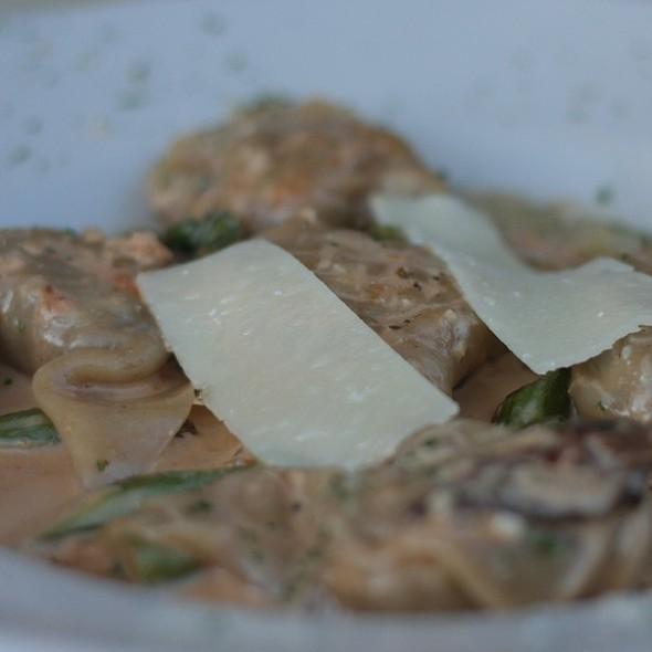 Mushroom-stuffed Pasta - Francesca's Passaggio, Naperville, IL