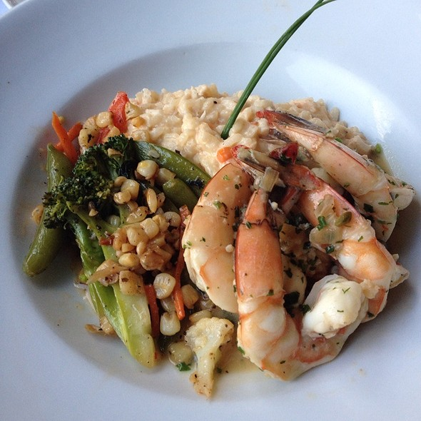 Crab Risotto, Shrimp Scampi - Trax Restaurant & Cafe, Ambler, PA