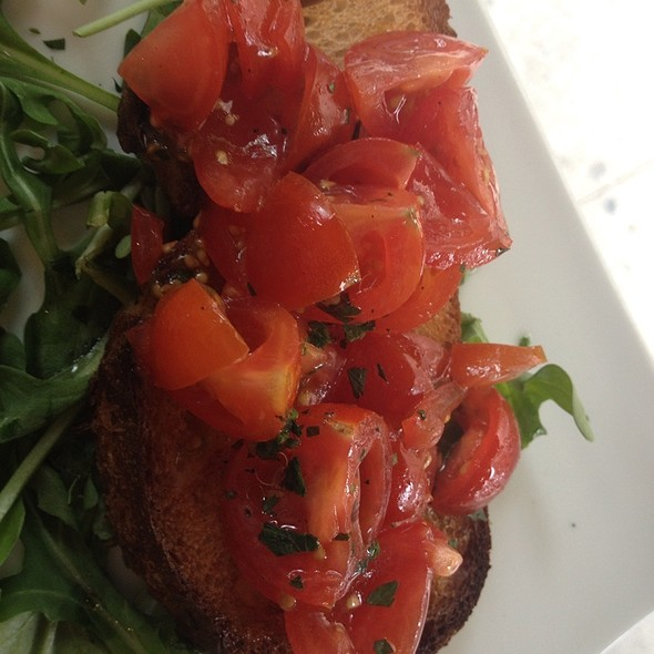 Bruschetta Ai Pomodorini E Basilico - Piccola Cucina Enoteca - Prince St., New York, NY