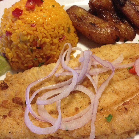 Fried Grouper Filet - Don Camaron, Miami, FL