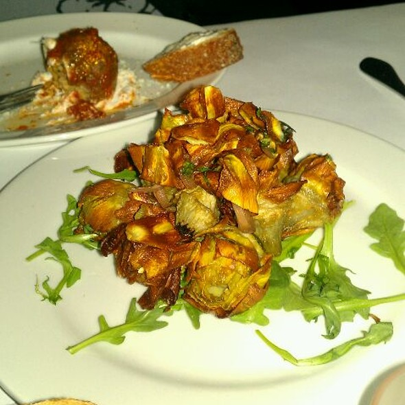 Fried Artichokes - Ballo Italian Restaurant, Uncasville, CT