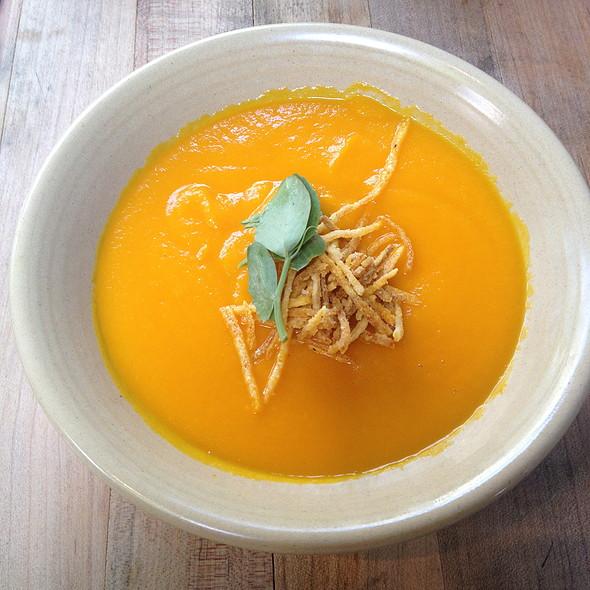 Carrot Ginger Soup - Terrain Garden Café - Westport, Westport, CT
