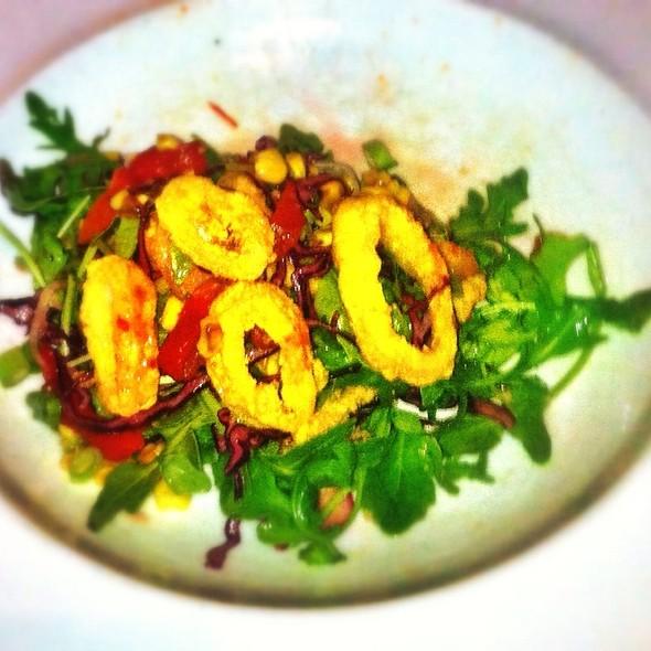 Fried Calamari Salad - Acadiana, Washington, DC