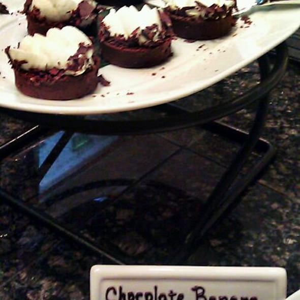Chocolate Banana Tarts - Cafe on the Green at the Four Seasons Dallas, Irving, TX